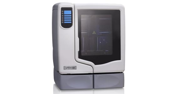 The 3D printer at Briggs Library is made by Stratasys.