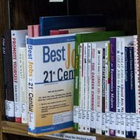A wide variety of books related to careers.