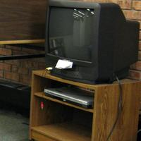 Briggs Library's Listening and Viewing Area