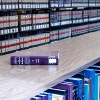 Reference books available for use within Briggs Library.