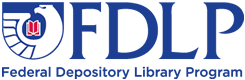 Federal Depository Library Program (FDLP) logo.