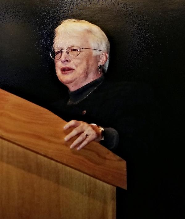 Helen Briggs, Founders Day, 2000.