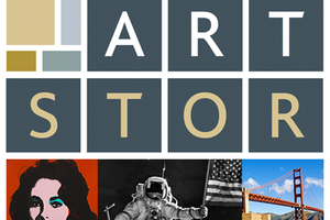 Artstor logo featuring works of art
