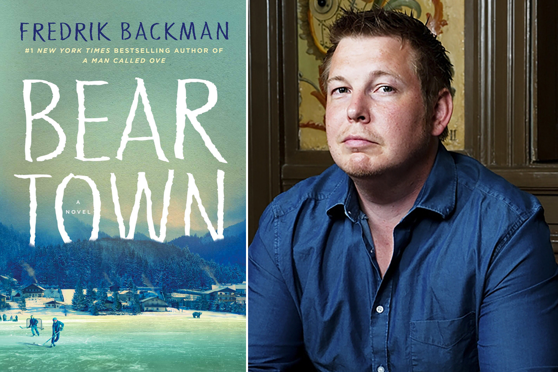 Bear Town book cover and author Fredrick Backman