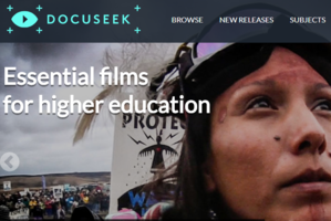 Docuseek2 homepage sacreenshot