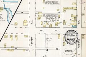 Fire insurance map of Morris