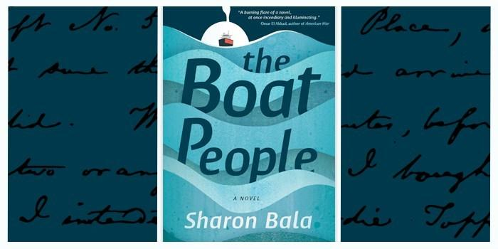 Boat People book cover and author Sharon Bala